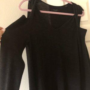 All saints charcoal wool dress, size medium